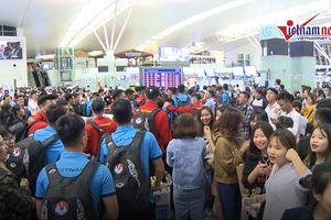Tuyển Việt Nam lên đường sang Hàn Quốc tập huấn trước AFF Cup