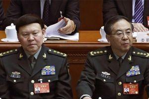 Trung Quốc tước quân hàm, khai trừ đảng hai tướng quân đội