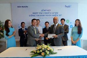 Bảo hiểm BIDV MetLife bắt tay Payoo mở 7.000 điểm thanh toán