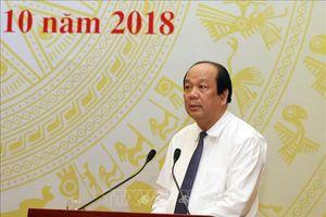 Bộ trưởng Mai Tiến Dũng thẳng thắn phê bình về lô hàng lúa mì lẫn cỏ dại
