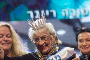 Cụ bà 93 tuổi giành vương miện Hoa hậu 'Miss Holocaust Survivor' ở Israel