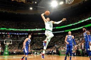 Chùm ảnh: Boston Celtics 'dạy dỗ' Philadelphia 76ers tại TD Garden