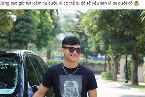 Xin được giới thiệu đây chính là 'thánh deep' của U23 Việt Nam, chỉ cần thở nhẹ cũng ra triết lý