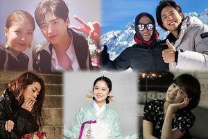 Ảnh 'hot' ngày 17/10: Jang Nara, Song Hye Kyo và Han Ji Min 'đọ' tạo hình trong phim - Lee Jong Suk khoe ảnh chụp cùng Ha Ji Won