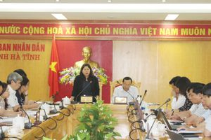 Hà Tĩnh cần tiếp tục đẩy mạnh cải cách hành chính, đặc biệt quan tâm đến lĩnh vực TN&MT
