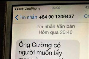 Chánh văn phòng đoàn ĐBQH bị nhắn tin đe dọa tính mạng