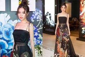 Hoàng Thùy Linh khoe vóc dáng thon gọn khi diện trang phục xuyên thấu khoe nội y
