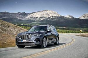 BMW X7 2019 chính thức lộ diện, đối đầu Mercedes-Benz GLS
