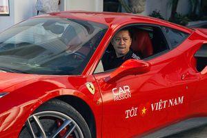 'Truy' nguồn gốc siêu xe Ferrari 488 GTB của ca sỹ Tuấn Hưng