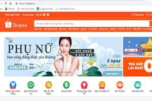 'Vượt mặt' Lazada, Shopee thành trang thương mại có truy cập lớn nhất Việt Nam