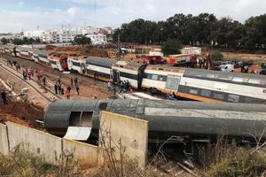 Tai nạn đường sắt ở Morocco, gần 100 người thương vong