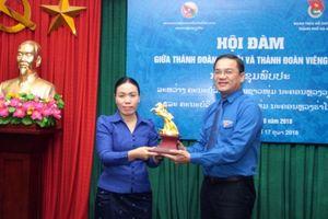 Thành đoàn Hà Nội - Viêng Chăn thắt chặt quan hệ tăng cường hợp tác