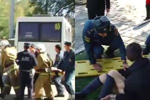 Nhân chứng vụ tấn công ở Crimea kể lại khoảnh khắc nhìn bạn bị sát hại