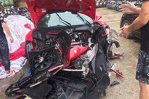 Tuấn Hưng lên tiếng sau vụ siêu xe của mình gặp tai nạn nghiêm trọng