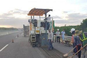 Hoàn thành việc sửa chữa mặt đường cao tốc Đà Nẵng – Quảng Ngãi