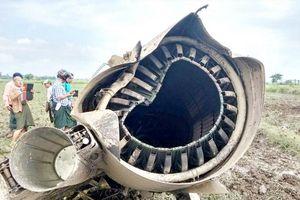 Máy bay Trung Quốc sản xuất liên tiếp rơi ở Myanmar: 2 phi công, 1 bé gái thiệt mạng