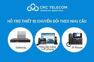 Miễn phí thiết bị khi dùng thoại cố định của CMC Telecom