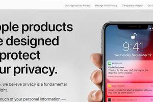 Apple 'đá đểu' Facebook và Google khi bổ sung tính năng bảo vệ dữ liệu cho người dùng?