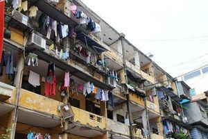 Hà Nội xin cơ chế 'đặc biệt' khi cải tạo chung cư cũ
