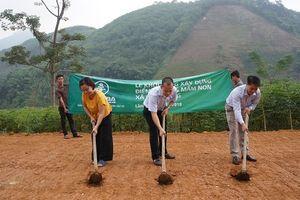 Hội Doanh nghiệp trẻ Hà Nội: Xây dựng điểm trường cho học sinh mần non vùng cao