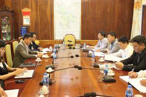 Đẩy mạnh công tác tuyên truyền giữa báo Kinh tế & Đô thị và huyện Ứng Hòa