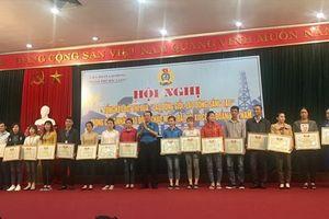 Bắc Giang: Đồng loạt tổ chức tổng kết đợt thi đua chào mừng Đại hội XII CĐ Việt Nam