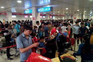 Ga quốc nội Sân bay Tân Sơn Nhất mất điện 4 phút