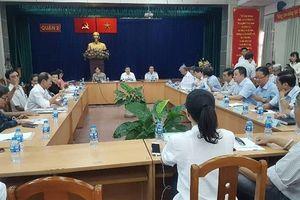 Chủ tịch TP.HCM tiếp xúc người dân khu 4,3ha Thủ Thiêm