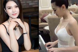 'Mỹ nữ Vũng Tàu đi xe 70 tỷ' gợi cảm hút mắt, trổ tài chơi đàn piano