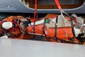 Xuyên đêm cứu nạn hành khách Canada trên vùng biển Việt Nam