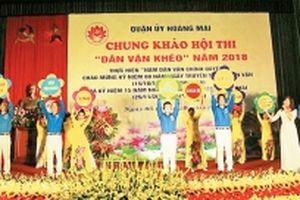 Chuyển biến từ công tác dân vận ở quận Hoàng Mai