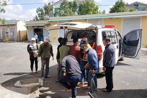 8 người bị điện giật trong lúc chuyển khung nhà kính qua đường dây điện