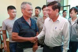 Chủ tịch UBND TPHCM Nguyễn Thành Phong: 'Tận đáy lòng, tôi xin lỗi người dân Thủ Thiêm'