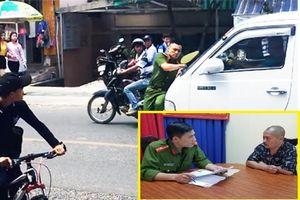 Tài xế xe khách tông trung úy công an ra trình diện