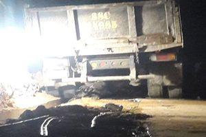 Tai nạn giao thông, nữ sinh lớp 10 tử vong dưới gầm xe tải