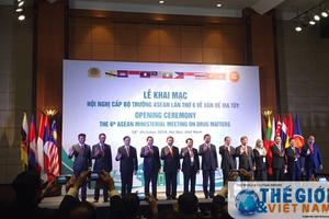 Khai mạc Hội nghị cấp Bộ trưởng ASEAN lần thứ 6 về ma túy