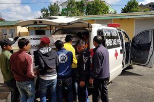 Bị phóng điện, 1 công nhân tử vong, 7 người bị thương