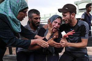 Bị trúng tên lửa, Israel trút 'cơn thịnh nộ' xuống Gaza