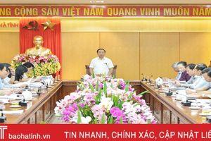 Đánh giá kỹ các giải pháp tổ chức thực hiện Nghị quyết Đại hội Đảng bộ tỉnh