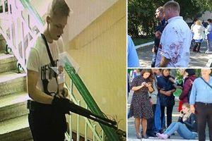 Giây phút kẻ tấn công điên cuồng xả súng giết chết bạn bè trong trường ở Crimea qua lời nhân chứng