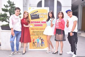 Sinh viên háo hức thử thách diễn xuất tại buổi casting phim sitcom 'Hoán đổi thanh xuân'
