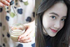 Nếu không dùng được kem chống nắng, hãy trộn dầu dừa với thứ này để thay thế, da mặt sẽ luôn trắng hồng rạng rỡ