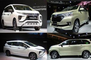 Phân khúc MPV đa dụng giá rẻ: Cuộc chiến giữa hai 'tân binh' Mitsubishi Xpander vs Toyota Avanza