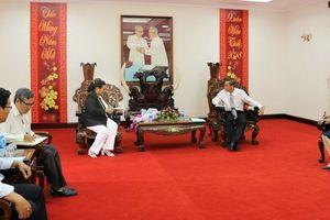 Tổng lãnh sự quán Cuba đến thăm, làm việc tại An Giang