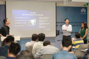 Huawei giới thiệu dòng điện thoại siêu thông minh