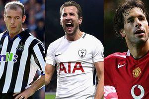 Top 10 cầu thủ ghi nhiều hat-trick nhất lịch sử Premier League