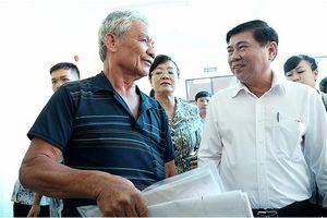 Chủ tịch UBND TPHCM: 'Chân thành xin lỗi người dân Thủ Thiêm'
