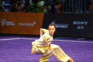 Sàn thi đấu nội dung quyền Wushu phải có diện tích từ 80m2 trở lên