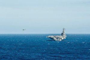 Trực thăng MH-60 rơi trên tàu sân bay USS Roanld Reagan của Mỹ