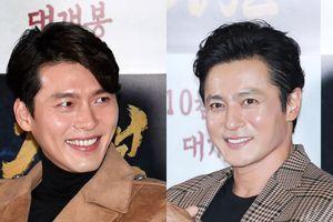 Hyun Bin, Jang Dong Gun mất điểm vì gương mặt bóng nhẫy tại sự kiện